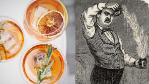 evolution of cocktails. old fashioned.