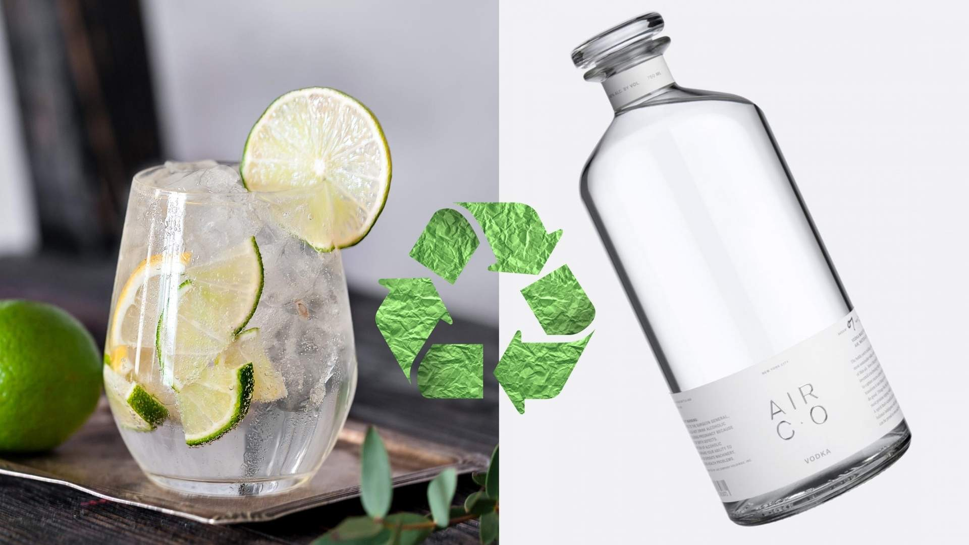 air co sustainable green vodka