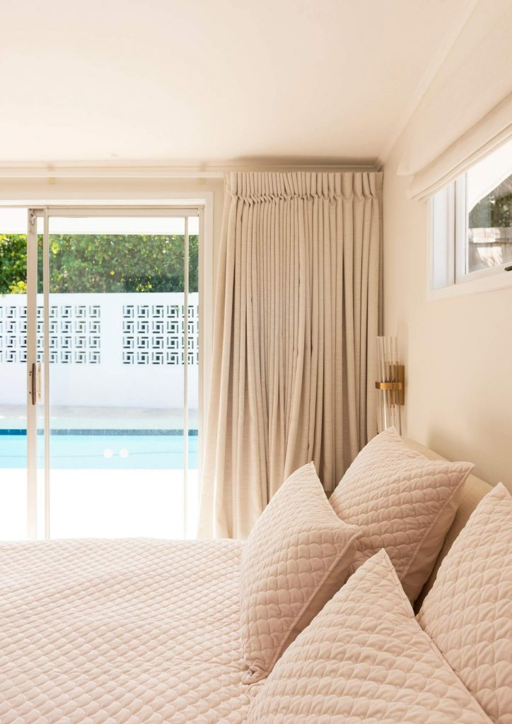 holiday at home design tips bedroom