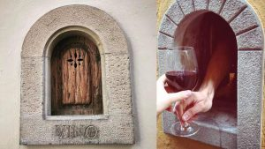 wine windows of florence