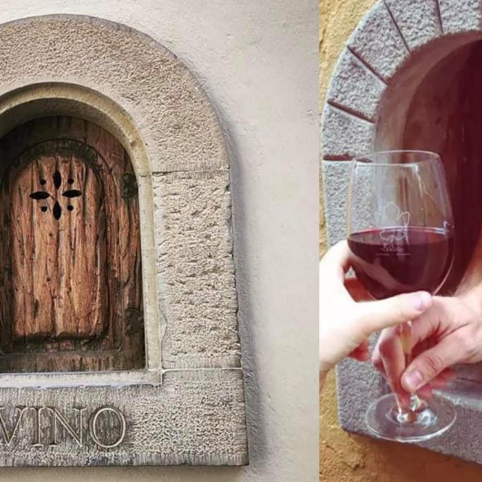 Resurrecting The 17th Century Wine Windows of Florence Thanks To The Pandemic