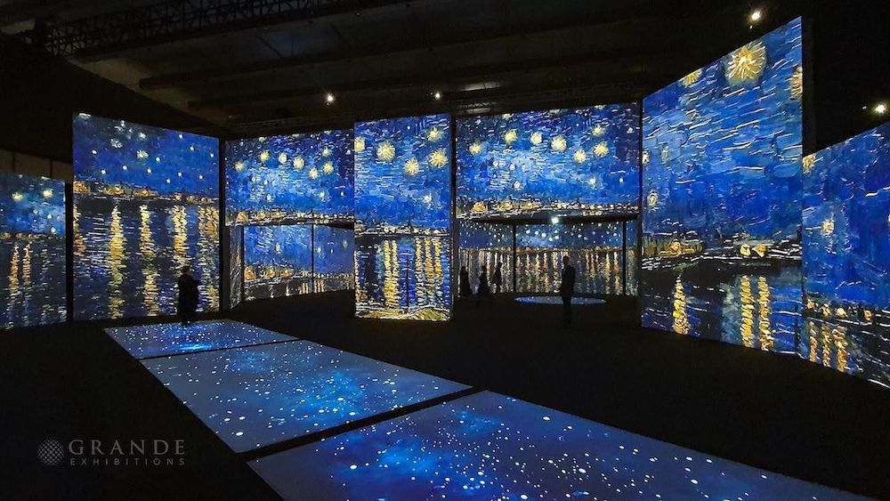 Starry Night installation