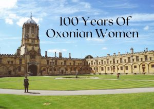 100 years of Oxford Degrees for women