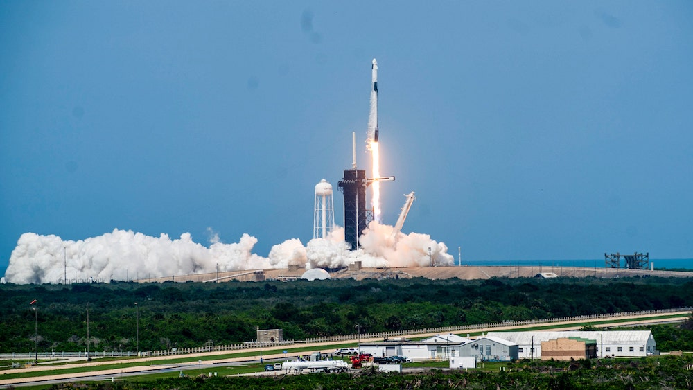 SpaceX launches astronauts into orbit, NASA