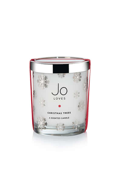 Christmas Trees, Jo Loves, Candle