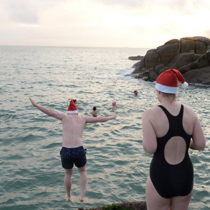The Perfect Place for a Christmas Dip Is In Dublin's Forty-Foot Pool