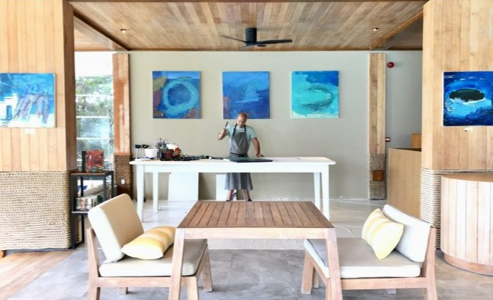 Gregory Burns Series Part 2: Art In The Heart Of Luxury Resorts