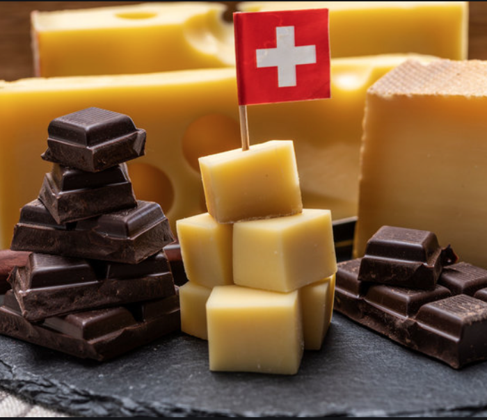 The Swiss Government's Emergency Kit Recommends Stocking Up On Chocolate, Painkillers And Cheese