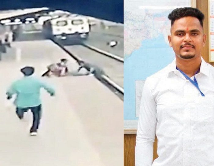 Indian Rail Worker Who Saved Child From Onrushing Train Now Donates Half His Reward