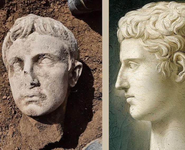 Emperor Augustus's Marble Head Found In Italy
