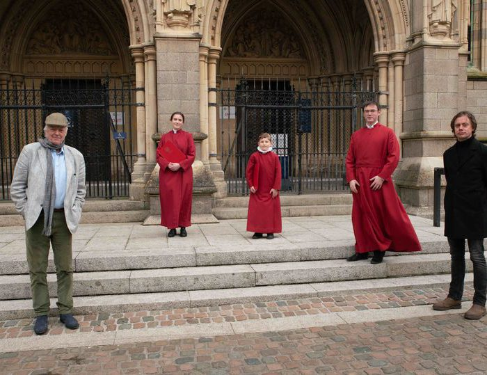 Sir Tim Rice's Sing2G7 With Truro Cathedral Choristers Goes Viral