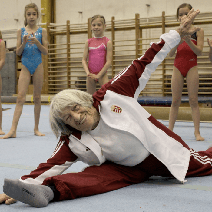 Meet The Oldest And Youngest Olympians: Agnes Keleti and Sky Brown
