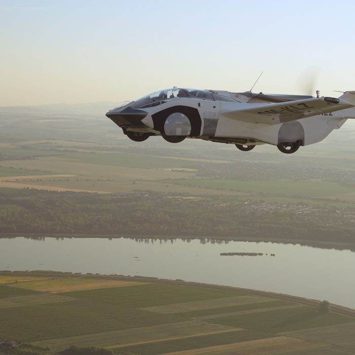 Flying Car Becomes A Reality As It Completes Historic Test Flight