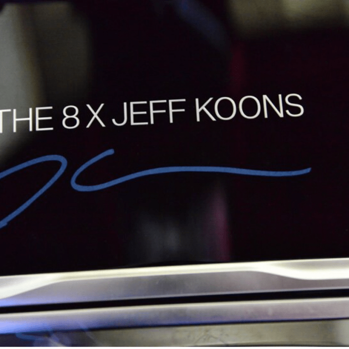 JEFF KOONS X BMW For A Special Edition 8 Series Gran Coupe