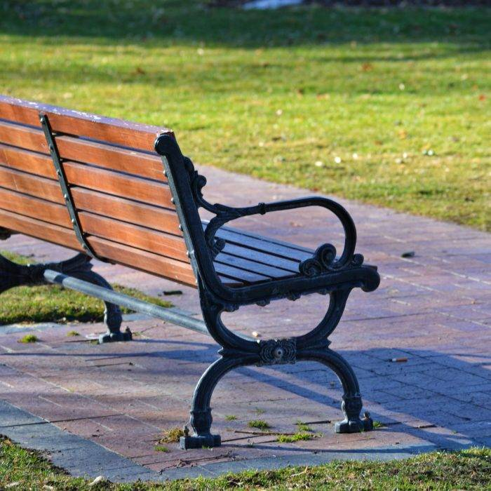 Happy Benches Are What We All Need Right Now